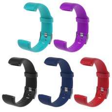 adjusted, Wristbands, Silicone, Watch