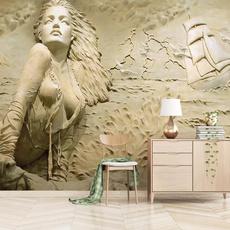 golden, wallpapersticker, art, Home Decor