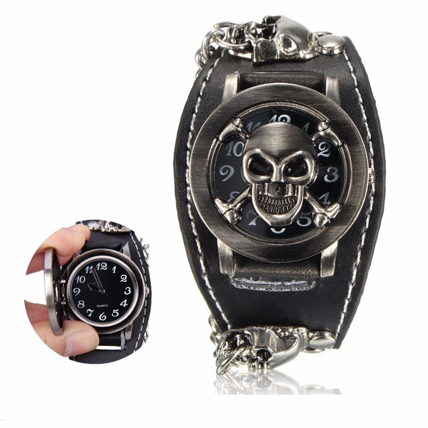 unisex watch, Goth, Fashion, Jewelry