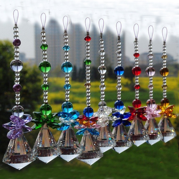 Chandelier, rainbow, crystal pendant, chandeliercrystalpart