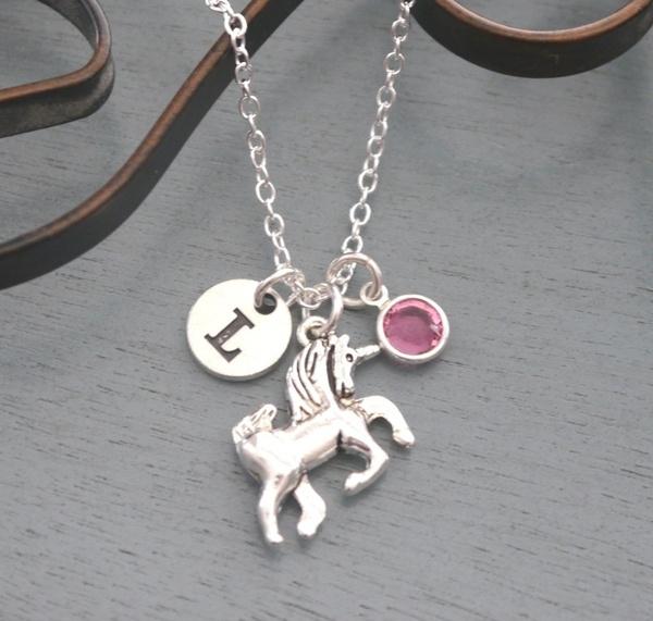 Jewelry, fairytalejewelry, unicornnecklace, cuteunicorn