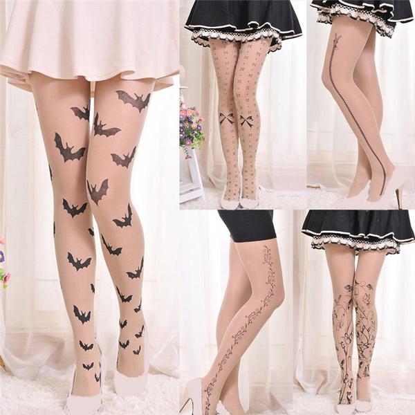 tattoo, Leggings, elastic waist, womentight