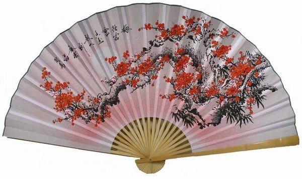 orientalfengshuiwallfanflowerfan022