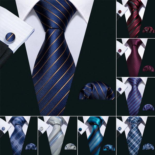 Blues, bluetie, redtie, tie set