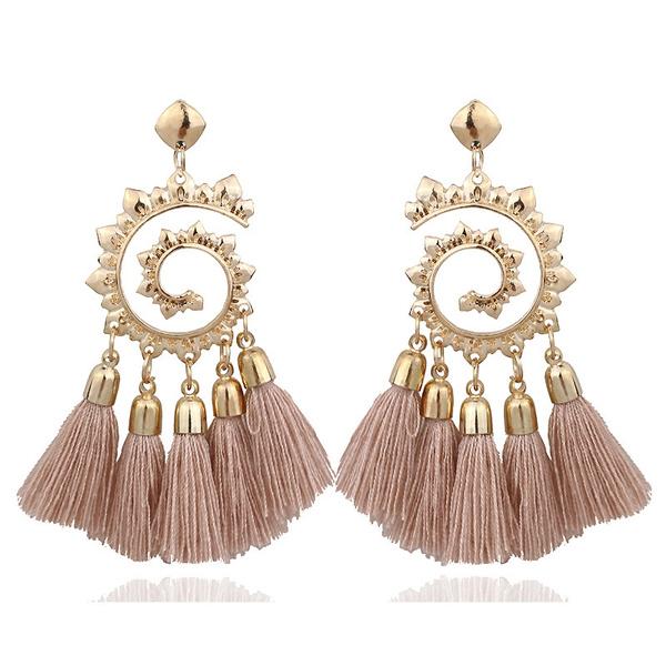 longtasselearring, Tassels, Fashion, earringjewelry