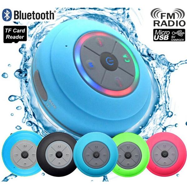Bathroom, Wireless Speakers, waterproofspeaker, handsfreespeaker