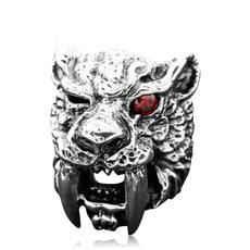 Steel, Tiger, tigerring, Fashion