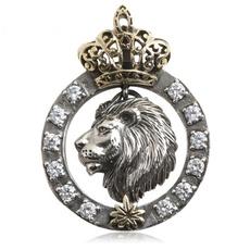 Steel, Head, Fashion necklaces, lionheadnecklace