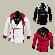 Fleece, menshoodedsweatercoat, Fleece Hoodie, slim