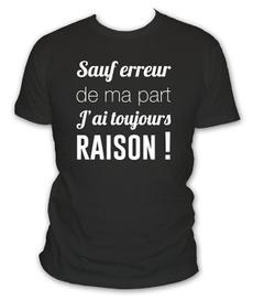 courte, manche, Shirt, humour
