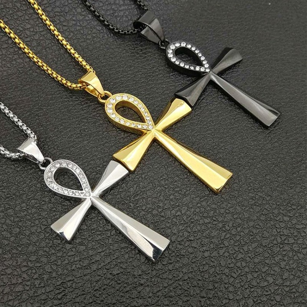 goldplated, Cross Pendant, women necklace, religiousnecklace