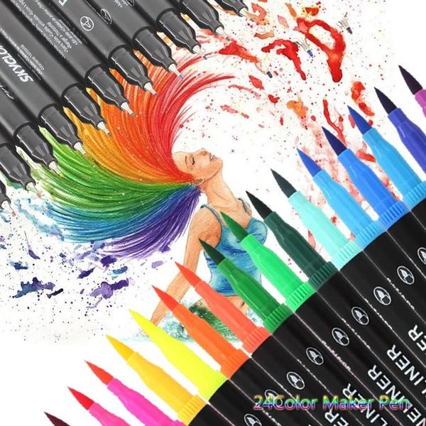 watercolorbrushpenset, Art Supplies, officeampschoolsupplie, drawingamppaintingsupplie