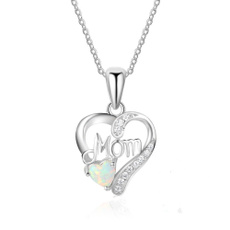 Jewelry, Gifts, 925 silver necklace, heart necklace