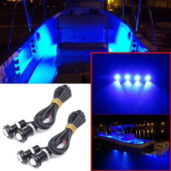 Blues, outriggerspreader, blueledboatlight, led