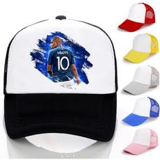 Baseball Hat, Soccer, Adjustable Baseball Cap, Fashion
