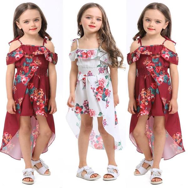 Summer, Strapless Dress, kids clothes, Dress