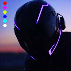 nachtfahrten, Helmet, flashingstripe, led