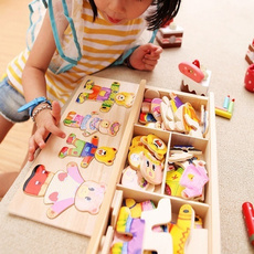 Toy, Wooden, Puzzle, Jigsaw
