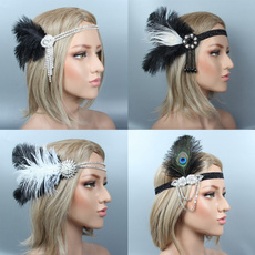 Head Bands, Cocktail, Beaded, partydecor