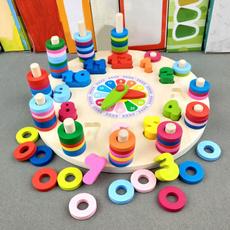 Toy, montessoritoy, digitalclockwoodentoy, Clock