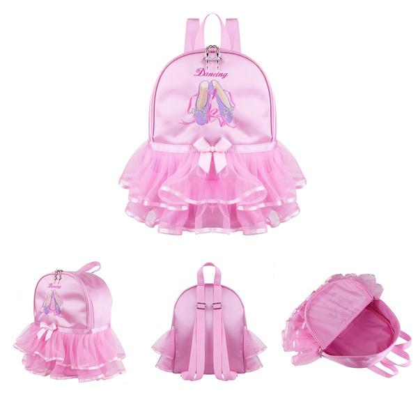 pink, Shoulder Bags, Ballet, ruffled