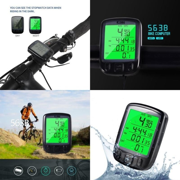 bicyclespeedometer, Bicycle, Monitors, Sports & Outdoors