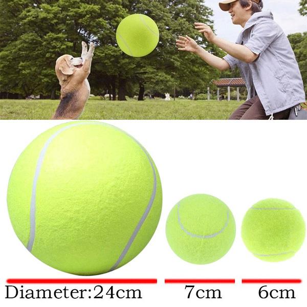petdogtennisball, Toy, rubbertennisball, bigtennisball