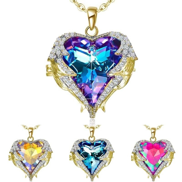 shinynecklace, Heart, necklacewing, Angel