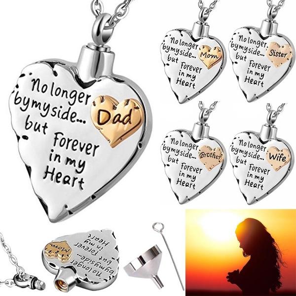 Steel, Heart, ashesjewelry, keepsakejewelry