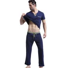 longsleevepantsset, mens underwear, Sleeve, cottonmensset