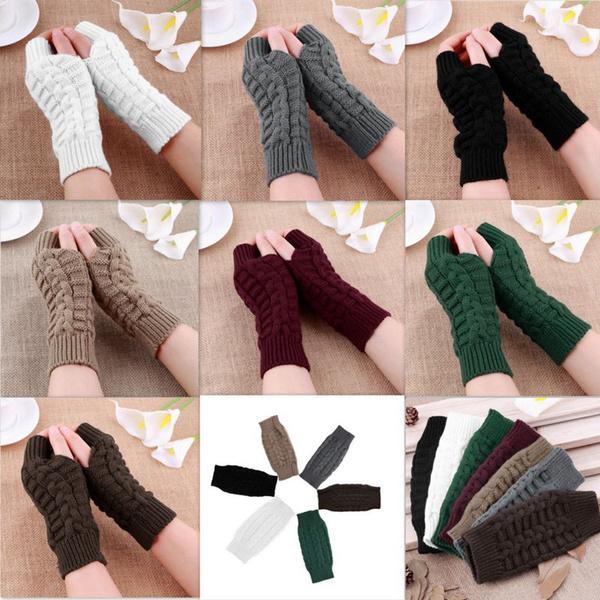 fingerlessglove, Wool, Knitting, Winter