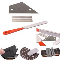 Steel, fretcrowningtool, Stainless Steel, guitarmaintenancefile