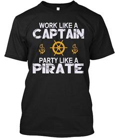 captainshirt, Boating, Fashion, Shirt
