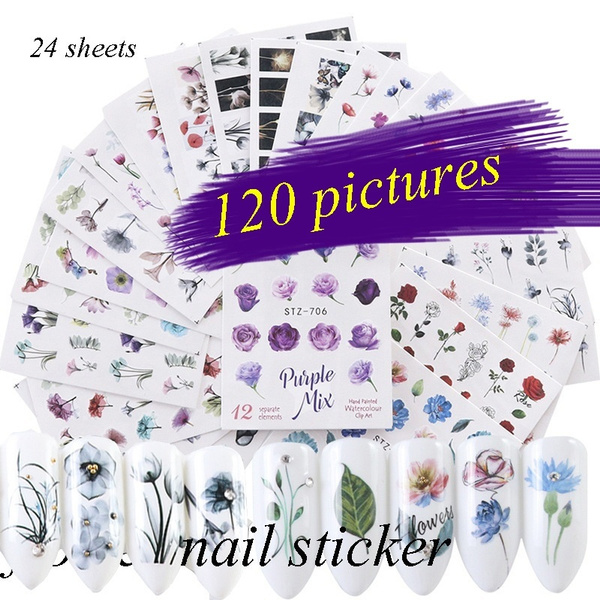 nail decoration, water, nail stickers, watermarknailsticker