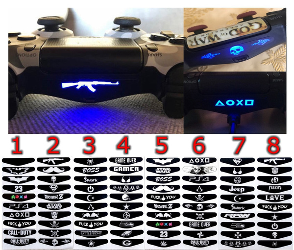 Playstation, Video Games, Gifts, ps4controllersticker