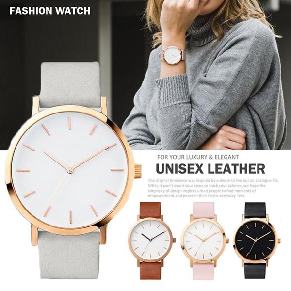 Ladies Watches, leather, quartz watch, Dress
