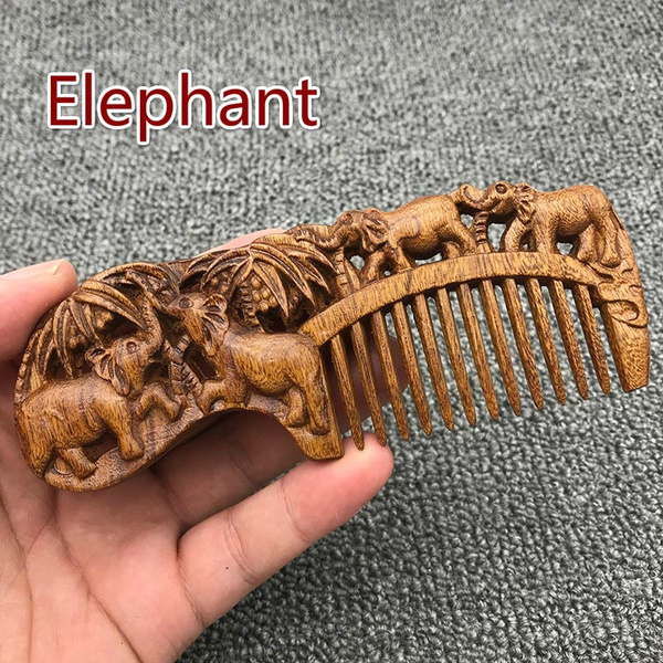Antique, Wool, woodcomb, Chinese