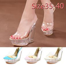 wedge, Fashion, Womens Shoes, Summer