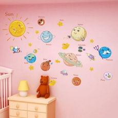 kindergartendecoration, School, solarsystem, schoolwallsticker