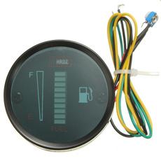 medidordeniveldecombustible, led, indicador, indicadordemedidordeniveldecombustible