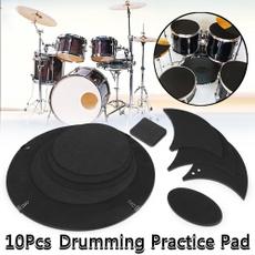 practicedrumpad, drummutepad, Bass, practicepad
