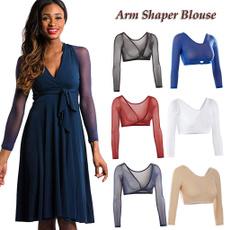 blouse, Women's Crop Top, Fantastic, Plus Size