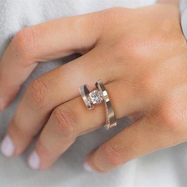 Sterling, DIAMOND, gold, Wedding