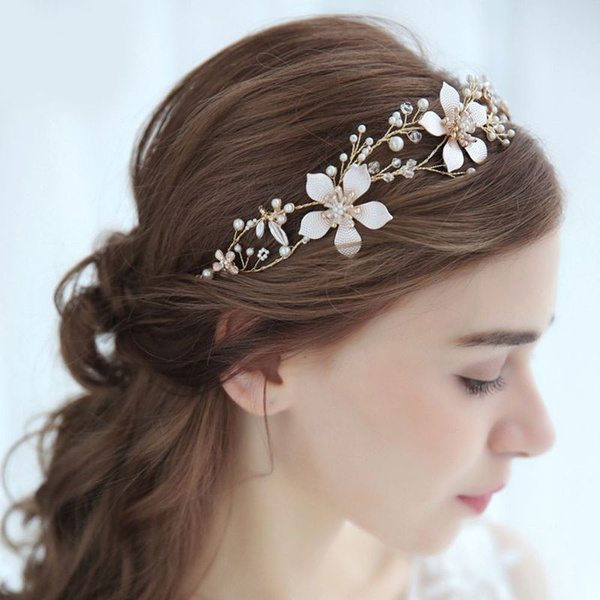 hair, Jewelry, gold, pearls