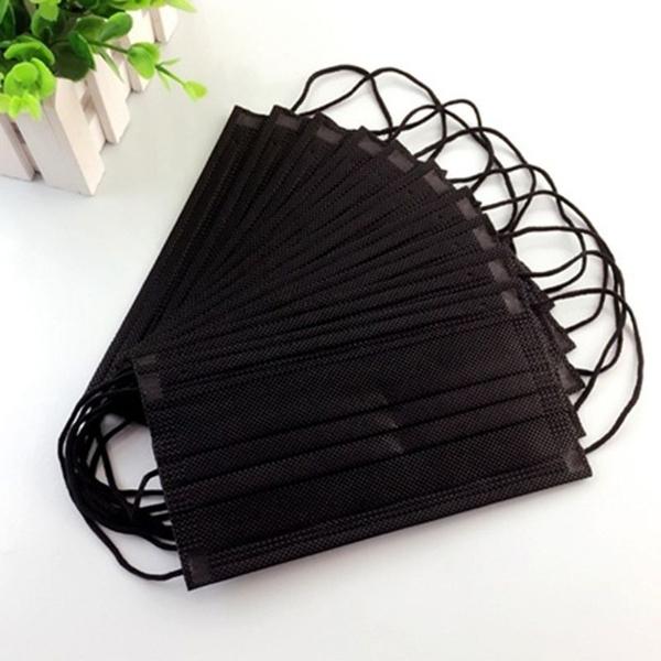 blackdisposablemask, solidcolormouthmask, antidustmouthmask, dustmask
