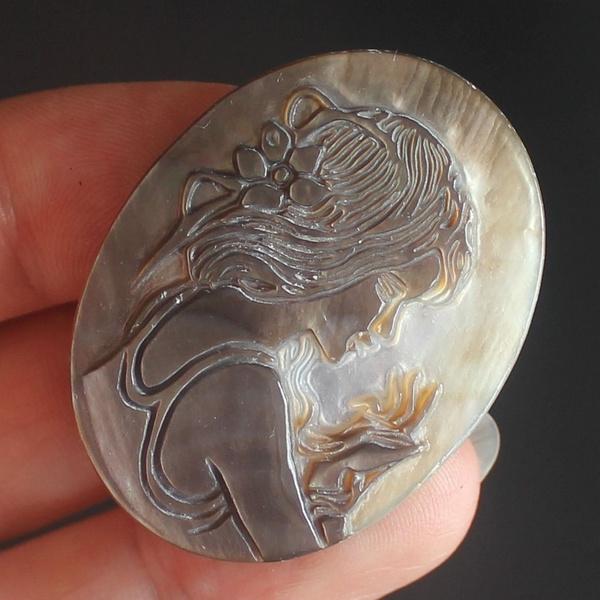 shellcameo, shells, Piece, Cameo
