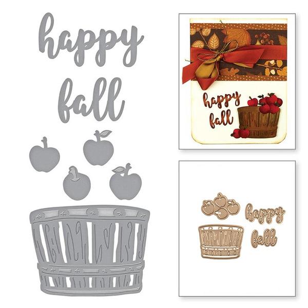 Card, craftscrapbooking, Scrapbooking, Apple