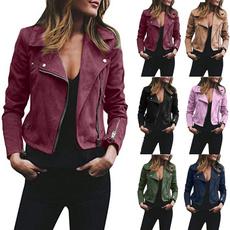 fur coat, Fashion, slim, suedejacket
