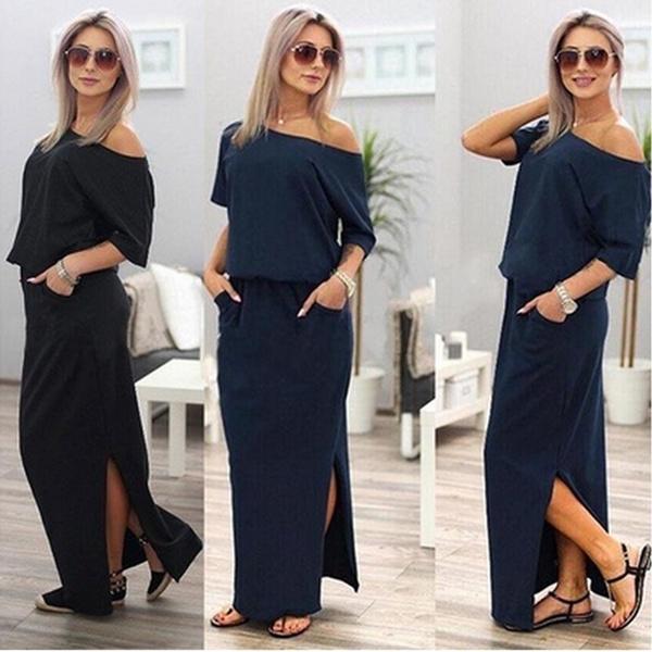 Shorts, boho, Sleeve, long dress