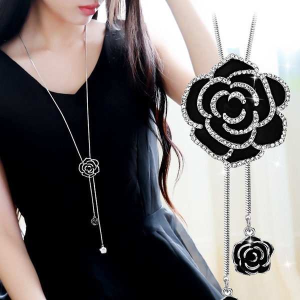 Fashion, Jewelry, Chain, flower necklace
